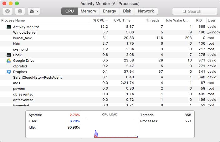 Disable OS X kernel_task throttling